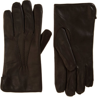 Barneys New York Fur Lined Gloves