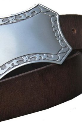 Wyatt Staghound Belts Belt in Dark Brown