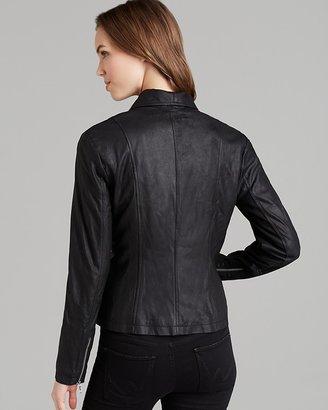 BB Dakota Leather Jacket - Lamb Leather