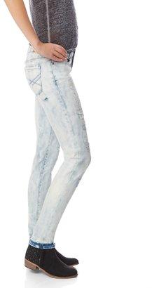 Aeropostale Bayla Destroyed Light Wash Skinny Jean