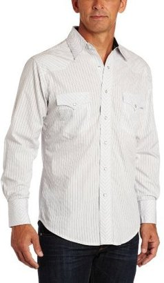 Wrangler Men's Silver Edition Western Shirt