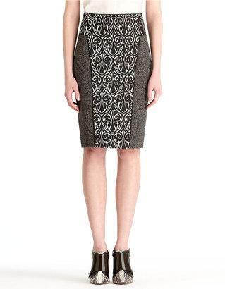 Rachel Roy Mix Media Pencil skirt