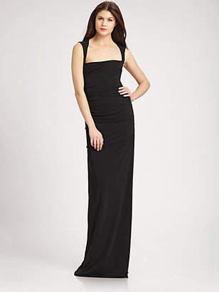 Nicole Miller Jersey Gown