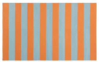 Hermes 9'x13' Flat-Weave Rug, Orange