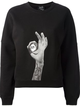 McQ by Alexander McQueen printed sweatshirt