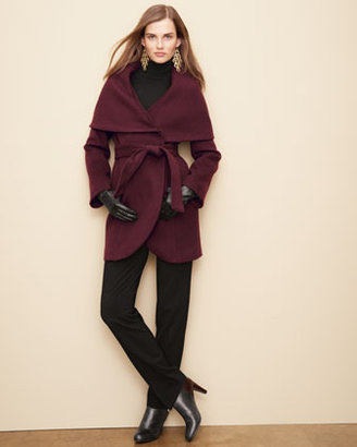 Neiman Marcus Elie Tahari Exclusive for Marla Wrap Coat