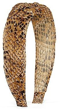 JCPenney Snake Print Headband