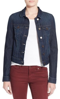 Women's Mavi Jeans 'Samantha' Denim Jacket $98 thestylecure.com