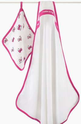 Aden Anais aden + anais Hello Kitty Hooded Towel (Infant) Pink One Size