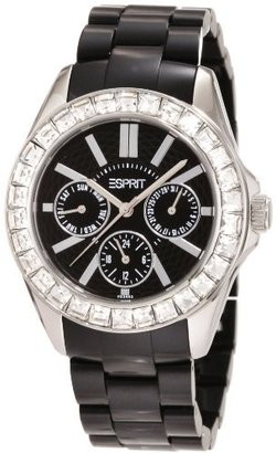 ESPRIT Women's ES105172005 Dolce Vita Plastic Black Analog Watch $39.15 thestylecure.com