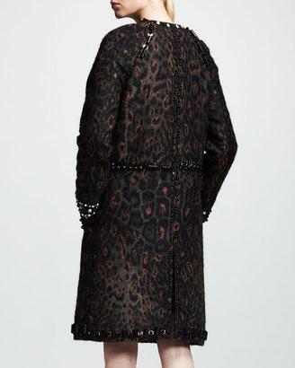 Lanvin Embroidered Shift Dress