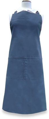 Bed Bath & Beyond Solid Twill Apron in Federal Blue