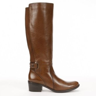 Bussola style leuven tall leather riding boots - women