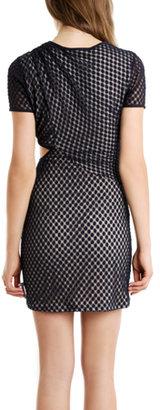 Charlotte Ronson Lace Cutout Dress