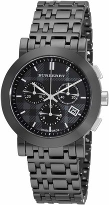 Burberry Women's BU1771 Ceramic Chronograph Dial Watch