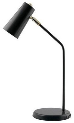 Salt&Pepper 'Mood' 43cm Metal Office Lamp in Black