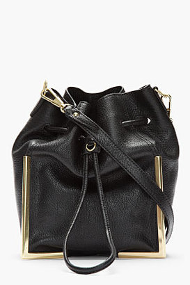 3.1 Phillip Lim Black Crossbody Lux Grain Goat leather Scout bag