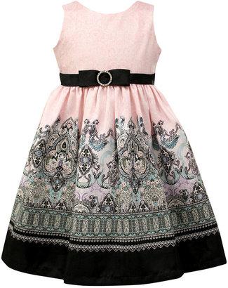 Jayne Copeland Girls Dress, Little Girls Paisley-Print Border Dress $74 thestylecure.com