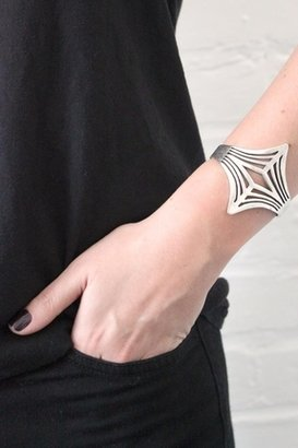 Low Luv x Erin Wasson by Erin Wasson Negative Space Cuff in Silver