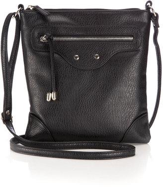 Wallis Black Cross Body Bag