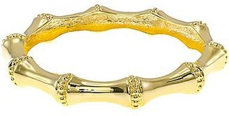 Kenneth Jay Lane FINE JEWELRY KJL by 22K Gold-Plated Bamboo Bangle