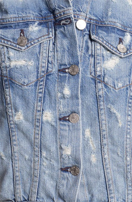 Rag and Bone rag & bone 'The Vest' Destroyed Denim Vest