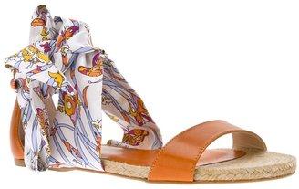 Emilio Pucci flat sandal