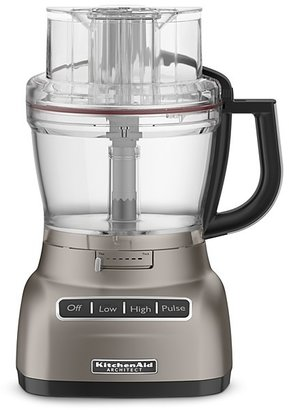 KitchenAid 13 Cup Wide Mouth Food Processor With Mini Chop Bowl