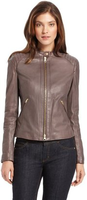 HUGO BOSS 'LE960' | Leather Motorcycle Jacket by BOSS