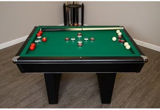 4.5' Bumper Pool Table with Accessories Hathaway Games