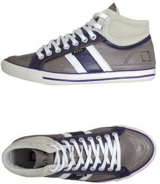 D.A.T.E High-top sneaker