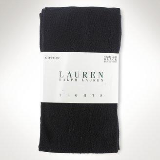 Ralph Lauren Cotton Jersey Tights