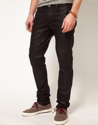Lee Jeans Luke Skinny Fit Waxy Black