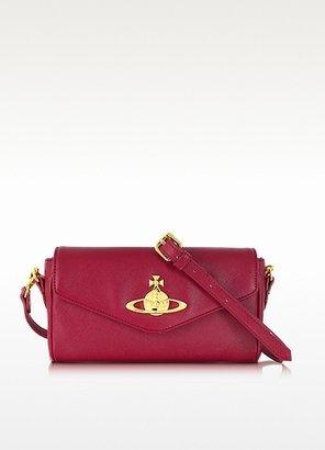 Vivienne Westwood Divina Saffiano Eco Leather Crossbody Bag