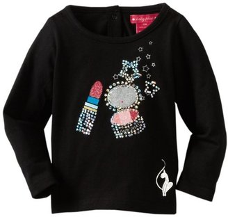 Baby Phat Kids Baby-girls Infant Print Tee With Matted Sequins