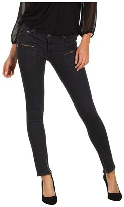 AG Adriano Goldschmied Harlow Patch Pocket Zip in Carbon (Carbon) - Apparel