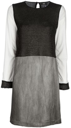 Markus Lupfer Faux leather dress