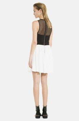Sandro 'Rubis' Empire Waist Dress