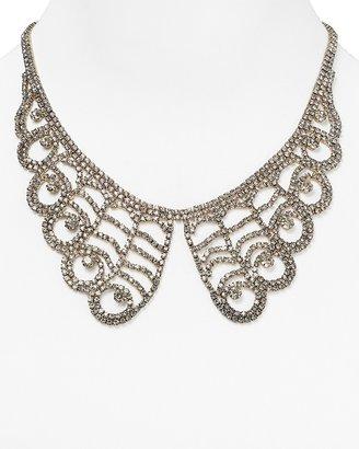 "Cara Accessories Lace Collar Necklace, 16"""