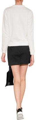J.W.Anderson Wool Leather Ribbon Mini-Skirt