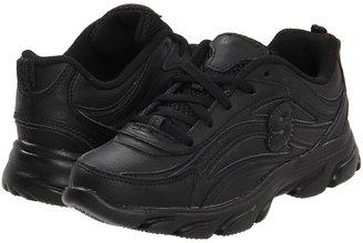 Skechers Litewaves - Booksmart (Little Kid/Big Kid) (Black) - Footwear