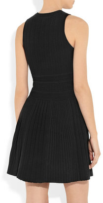Theory Chloh textured stretch-knit dress