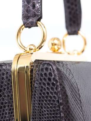 Dolce & Gabbana Python structured bag