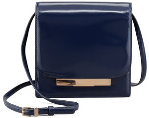 The Row Classic Soft Leather Shoulder Bag, Imperial Blue