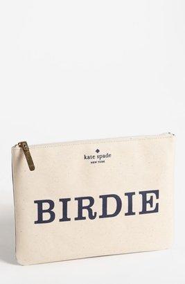 Kate Spade 'daytripper gia - birdie & bogey' pouch Birdie One Size