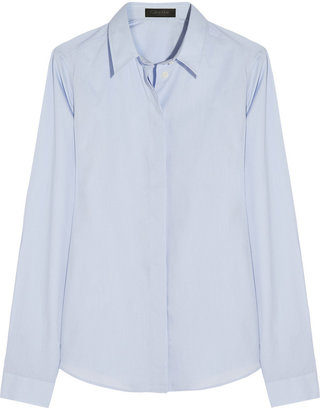 Calvin Klein Collection Peacan cotton shirt