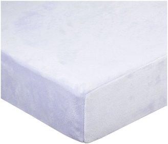 American Baby Company Heavenly Soft Chamois/Chenille Crib Sheet