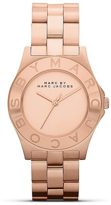 Marc by Marc Jacobs Rose Gold New Blade Bracelet Watch, 36.5mm