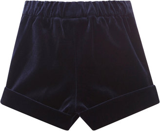 Oscar de la Renta Velvet Shorts