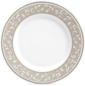 Lenox Opal Innocence Dune Appetizer Plate